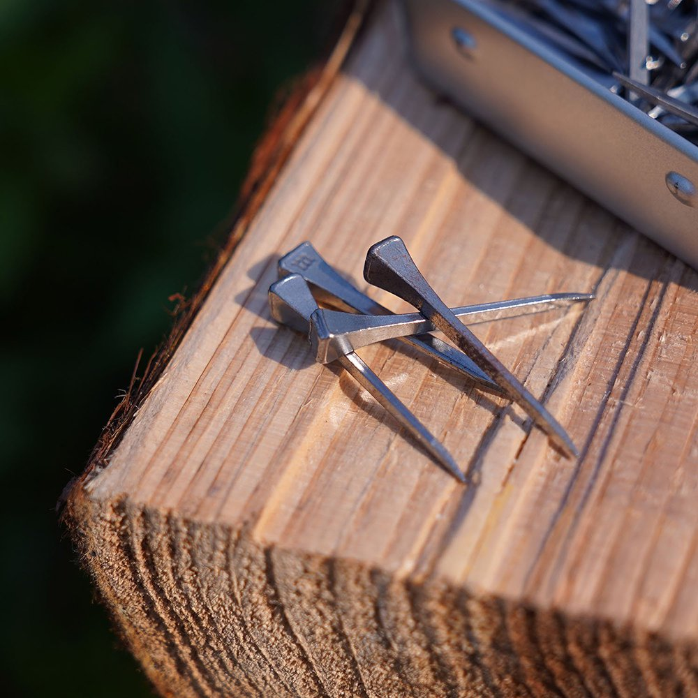 Bush Craft ブッシュクラフト DIY馬蹄釘 100本入 シルバー