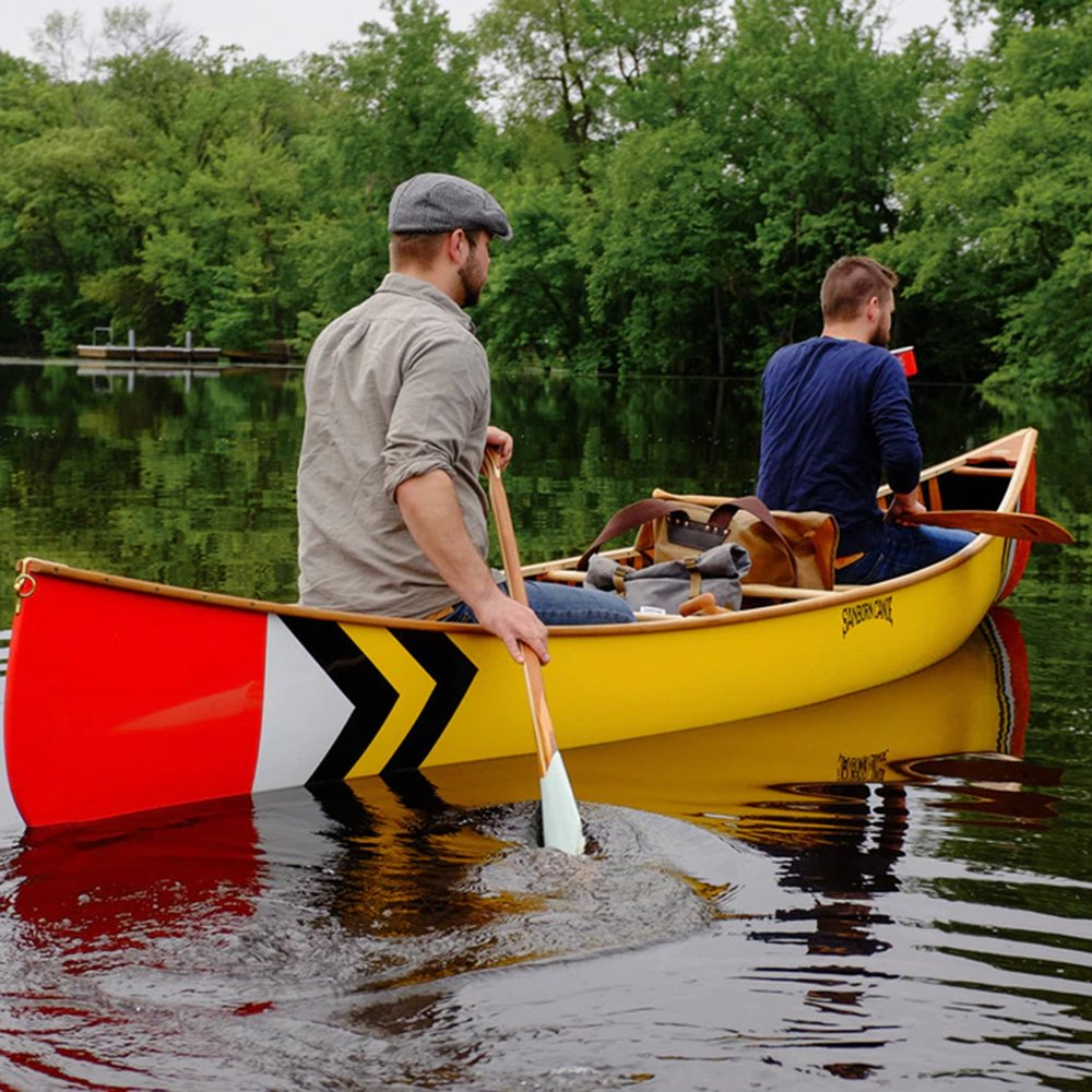 <img class='new_mark_img1' src='https://img.shop-pro.jp/img/new/icons1.gif' style='border:none;display:inline;margin:0px;padding:0px;width:auto;' />Sanborn Canoe Co. ARTISAN PAINTED PADDLES DALLES DES MORTS 7SCAPDDM Made in USA サンボーンカヌーカンパニー