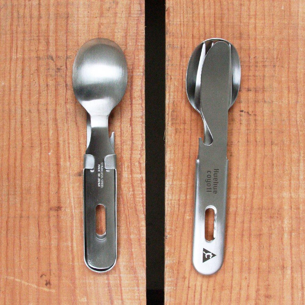 ウェウェコヨトル SFKセット ステンレス カトラリーセット 新潟県燕三条製 Huehuecoyotl Outdoor Works SKF SET Stainless Cutlery Set