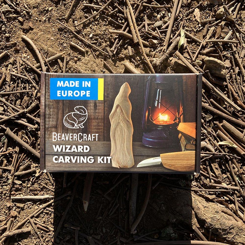 ビーバークラフト ウィザート カービングキット Beaver Craft Wizard Carving Hobby-Kit