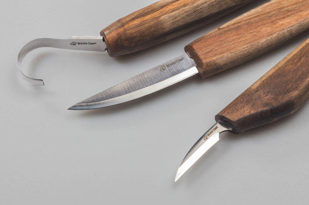 ビーバークラフト スプーンカービング用 限定版木彫りツールセット Beaver Craft Wood Carving Tool Set for Spoon Carving