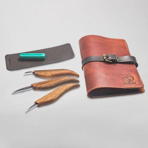 ビーバークラフト 限定版スターターチップ ホイットルナイフセット Beaver Craft Starter Chip and Whittle Knife Set