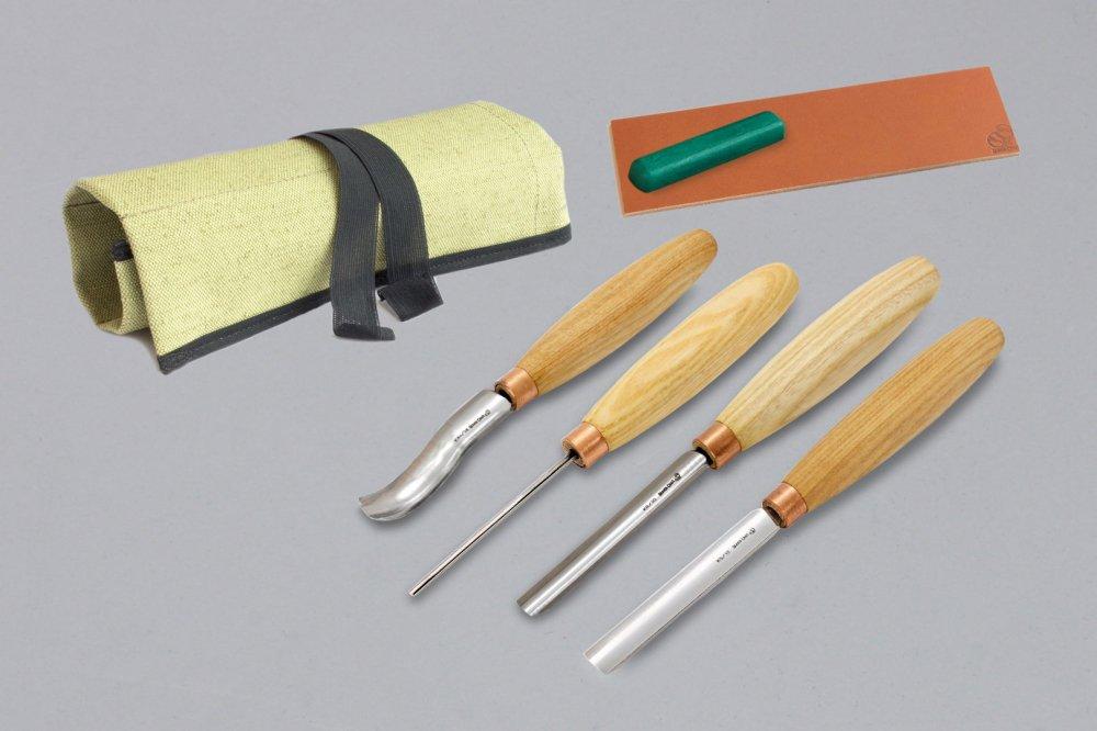 ビーバークラフト ガウジ木彫りツールセット Beaver Craft Gouge Wood Carving Tools Set