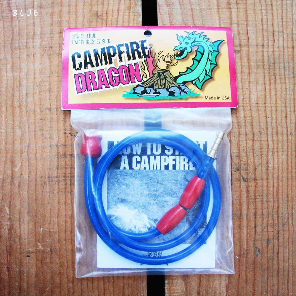 Campfire Dragon MADE IN USA キャンプファイヤードラゴン 火吹き棒 チューブ 鞴 ふいご 火起こし 火吹き 焚き火 鞴吹子 フイゴ