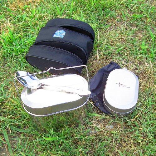 ROZA VETROV Set of Field Dishes ローザベトロフ セットオブフィールドディッシュ ステンレス 飯盒 水筒 スプーンセット