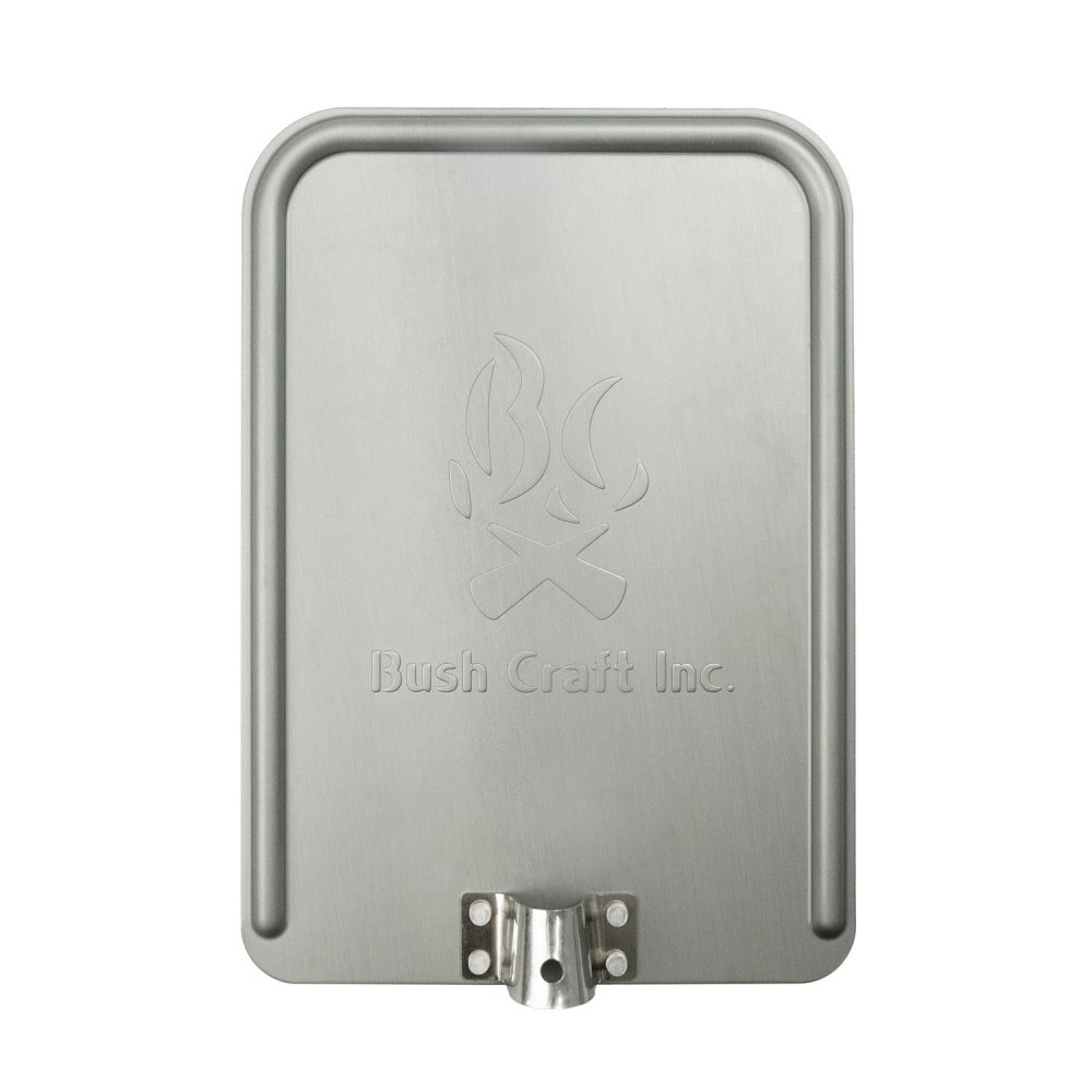 Bush Craft ブッシュクラフト 焚き火グリルプレート アルミ製