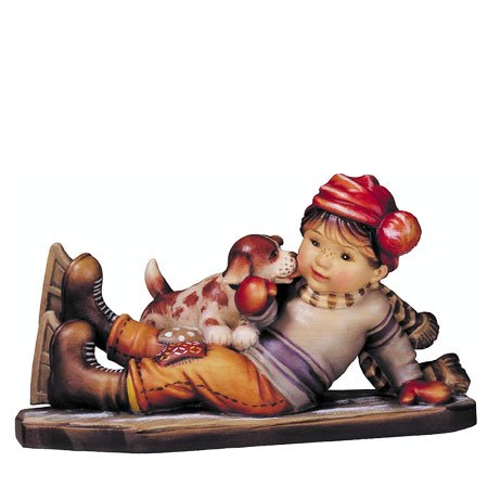 ANRI - Sweet rescue - Sarah Kay アンリ 木彫り人形 サラ・ケイ