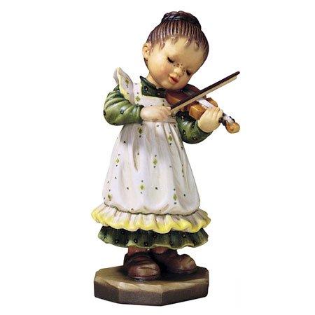 ANRI - Girl with Violin - Sarah Kay アンリ 木彫り人形 サラ・ケイ