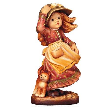 ANRI - Windy times - Sarah Kay アンリ 木彫り人形 サラ・ケイ