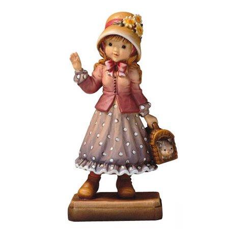 ANRI - Hello... - Sarah Kay アンリ 木彫り人形 サラ・ケイ