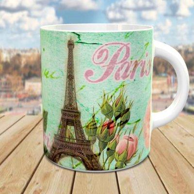 Eiffel Tower, Paris「エッフェル塔」 オリジナルマグカップ