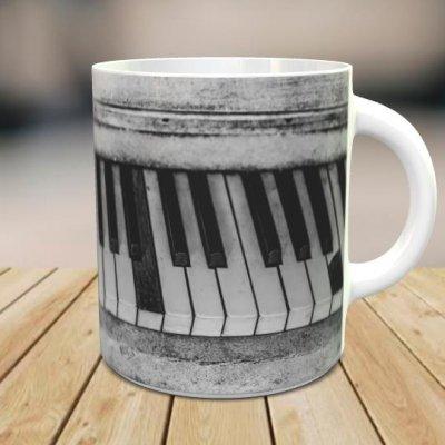 「Old Piano」 オリジナルマグカップ