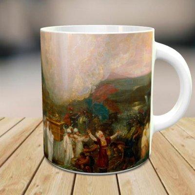 「ベンジャミン・ウエスト: The Ark of the Covenant」 オリジナルマグカップ