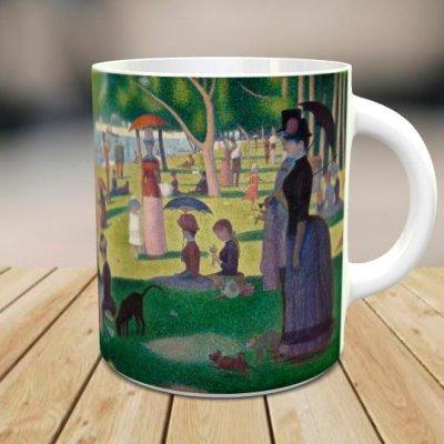 「グランド・ジャット島の日曜日の午後」 オリジナルマグカップ