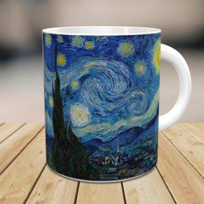 「フィンセント・ファン・ゴッホ: 星月夜 」 オリジナルマグカップ