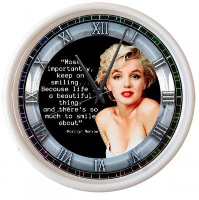 マリリン・モンロー写真時計19