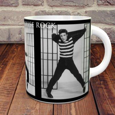 エルヴィス・プレスリー「監獄ロック-Jailhouse Rock」 マグカップ