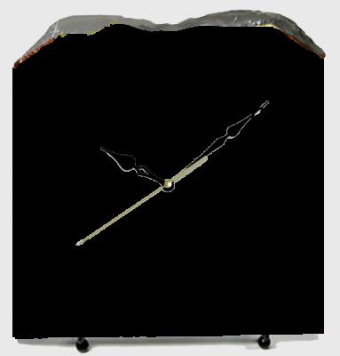 オーダーメイド 100%お客様のデザイン フォト石(ストーン)置時計 ハート形21cmx22cm