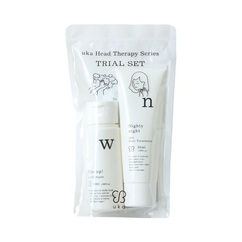 uka hair care TRIAL SET〈WN〉