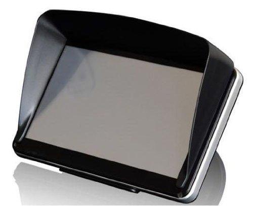 5インチナビ、その他モニターに取付可能な、オリジナルクリップ式サンバイザー!!