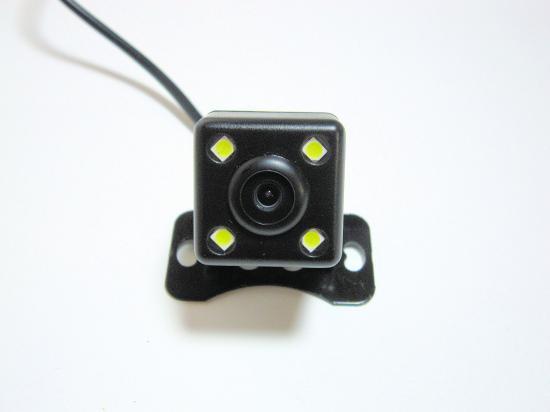 バックカメラ CCD 4LED暗視 広角170度 DC12V  防水 正・鏡像 ガイドライン有・無
