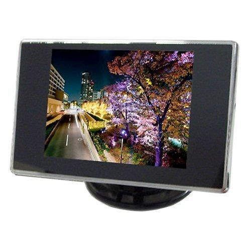 3.5インチ ミニオンダッシュ液晶モニター 電源直結 バックカメラ連動機能