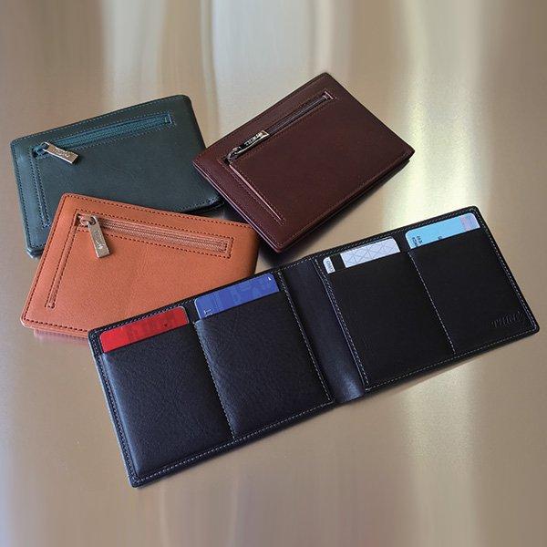 finest selection 6da68 9a95e カードをたくさん入れても 薄い財布 - 三宝堂オンラインショップ
