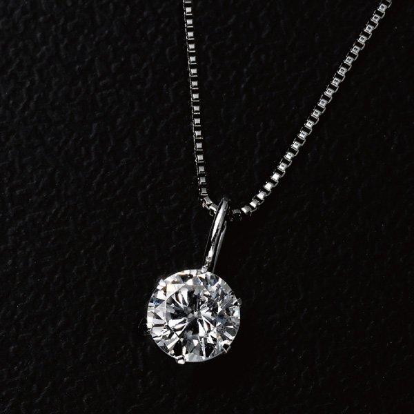 K−1315  インターナリーフローレスダイヤモンドペンダント