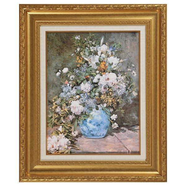 YO−1001 人気の名画7選 - ルノワール 春の花