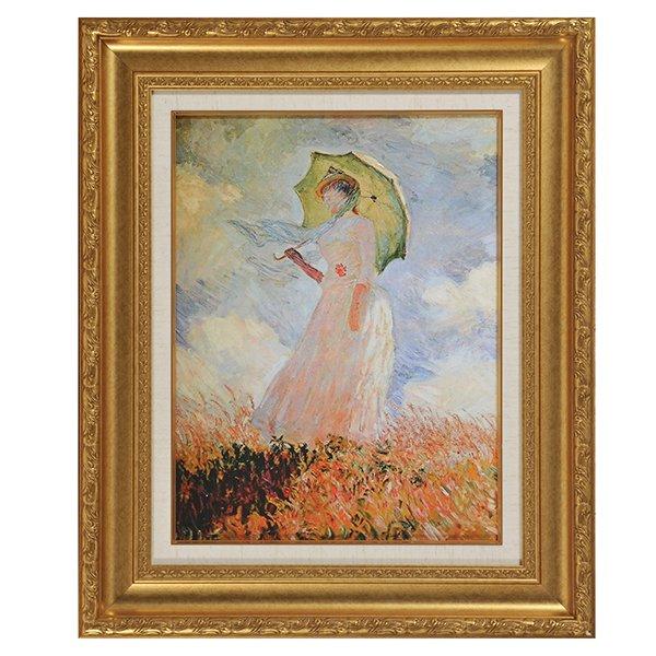 YO−1006 人気の名画7選 -モネ「日傘をさす女」