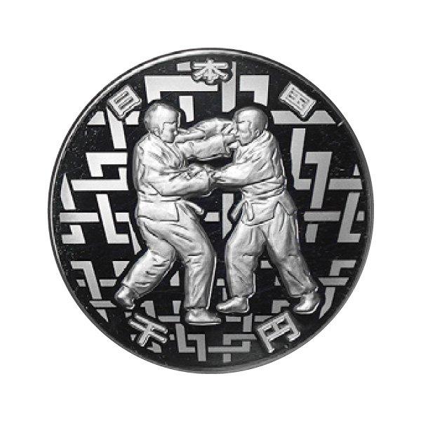 HB−1102   パラリンピック記念千円銀貨 柔道 (第一次発行分 )