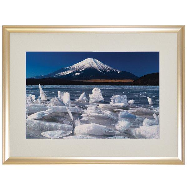 NK−1015  奇跡の写真「御神(おみ)渡(わたり)り富士」