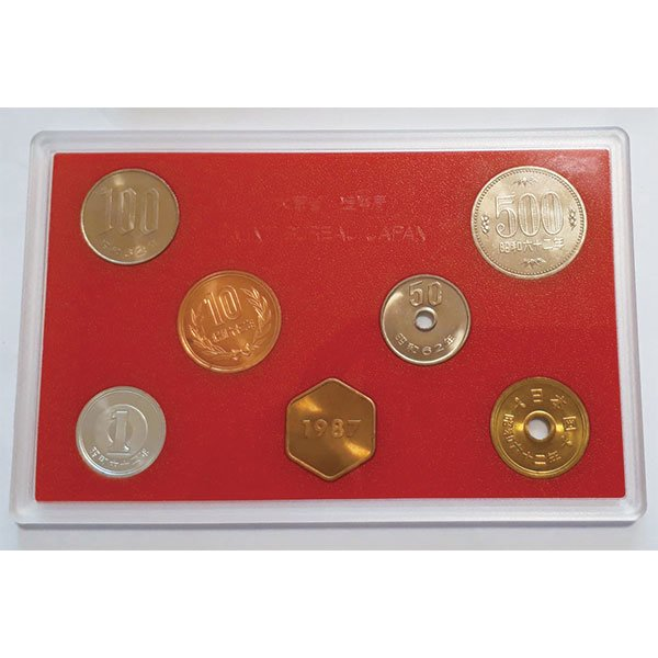 HB−1136 昭和62年版貨幣ミントセット