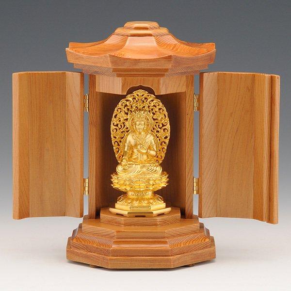 GS−1001−02 光則作 純金製守護本尊像 虚空蔵菩薩(こくうぞうぼさつ) 仏像