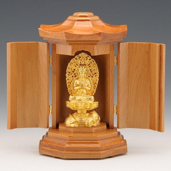 GS−1001−04 光則作 純金製守護本尊像 普賢菩薩(ふげんぼさつ)仏像
