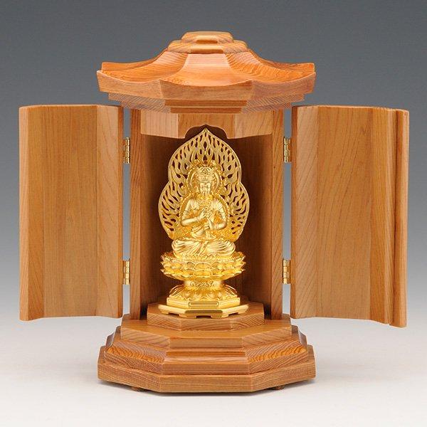 GS−1001−06 光則作 純金製守護本尊像 大日如来(だいにちにょらい)仏像