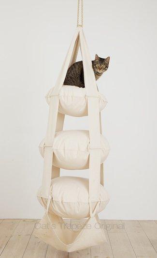 キャット・トラピーズ(3段式) Cat's Trapeze 3 pillows