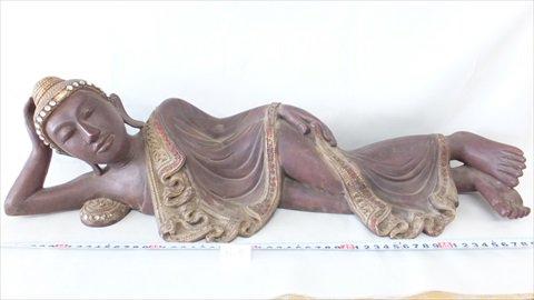ミャンマー(ビルマ)涅槃像