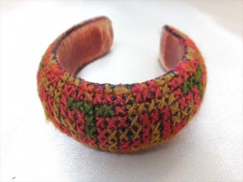 タイの山岳民族刺繍バングル