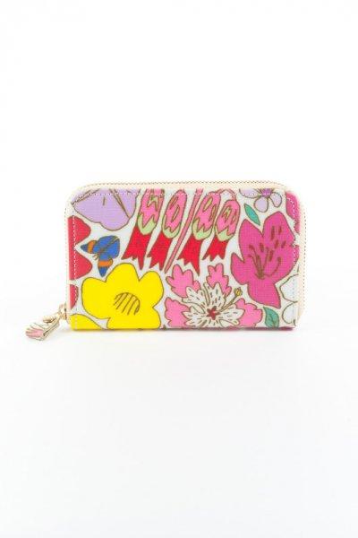 ミニ財布 お花