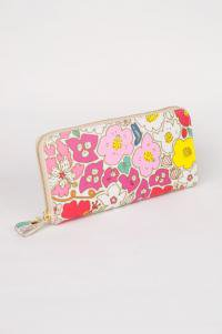 財布 お花