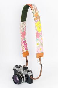 カメラストラップ(一眼レフ用)お花