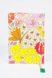 ブックカバー(文庫本用)お花