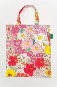 ミニぺたんこバッグ お花
