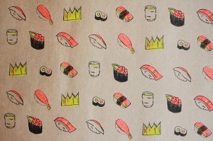 SUSHI柄ペーパー5枚セット<img class='new_mark_img2' src='//img.shop-pro.jp/img/new/icons8.gif' style='border:none;display:inline;margin:0px;padding:0px;width:auto;' />