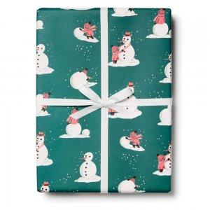 雪だるまの包装紙/ラッピングペーパー