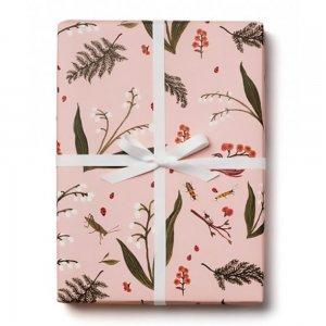 野草と小さな昆虫たちの包装紙/ラッピングペーパー