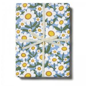 デイジー柄包装紙/ラッピングペーパー