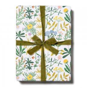 春の野の花柄包装紙/ラッピングペーパー