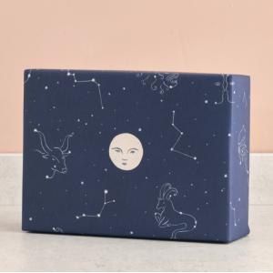 MOON & STAR柄包装紙/ラッピングペーパー